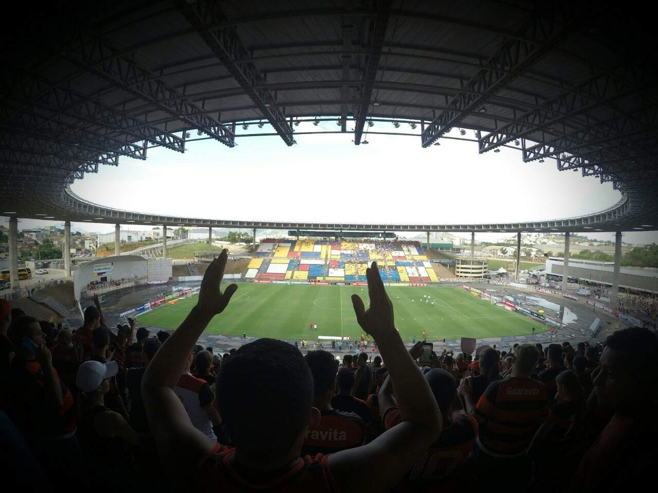 Kleber Andrade recebe Flamengo x Corinthians na semifinal do Campeonato Brasileiro Sub-20